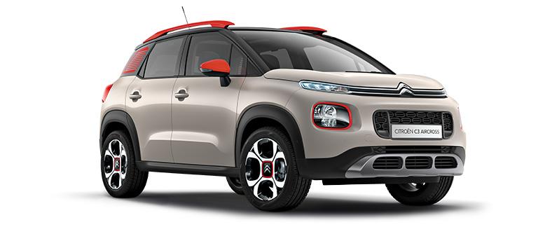 Aktionsmodell 3: Citroën C3 Aircross