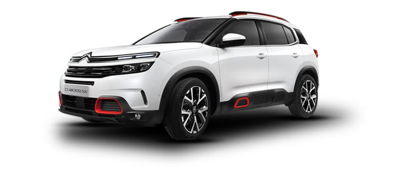 Aktionsmodell 1: Citroën C5 Aircross