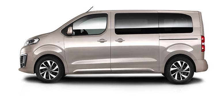 Aktionsmodell 2: Citroën Spacetourer